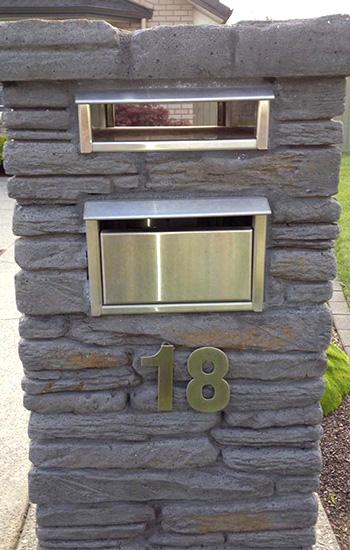 Stone Letter Boxes Pro Built Village